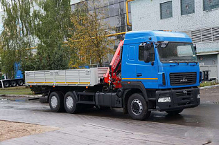 МАЗ 6312C5 FASSI F175.A.24